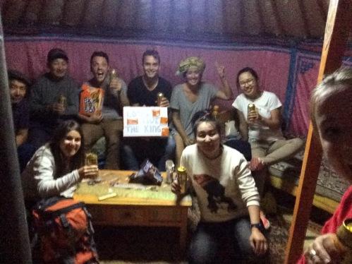 Koningsdag 2018 vieren met Mongolen in een ger!
